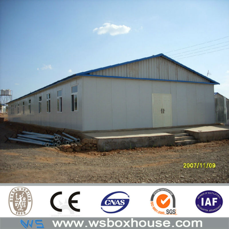 Flexible High Quality Prefab Residential Container House