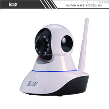 Motion Detection Two-way Voice Wireless Recordable Security Cameras with SD Card Storage