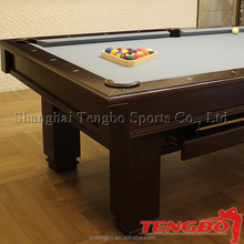 Manufacture cheap high quality modern portable pool table ball return stone marble slate
