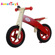 2017 newest popular Children Balance Wooden baby Bike for kids