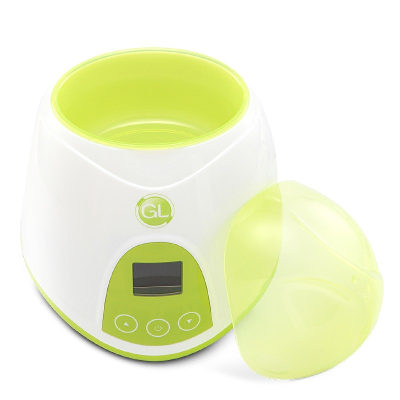 Popular and Well-regarded Natural Fit Baby Digital Bottle Warmer In Green / Bule