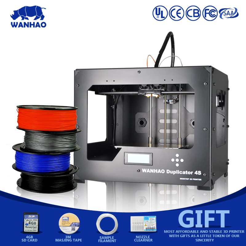 Manufacturing Usage 3D Printer wanhao D4S challenger digital printing machine printer 3d 2016