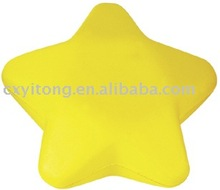 star stress ball,stress star ball,foam star