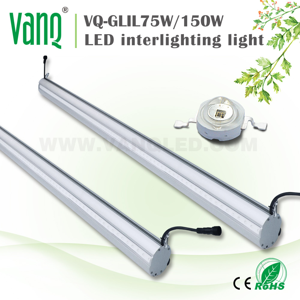 Interlighting double end led lamp grow light for greenhouse farm tomato/cucumber