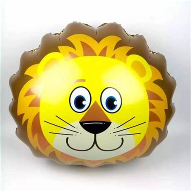 new mini animal balloon lion horse  pig balloon 40*30cm  Dairy cow balloons (not include the stander)