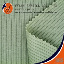 EYSAN Knit Polyester Cotton 4x1 RIB Drop Needle Interlock Fabric