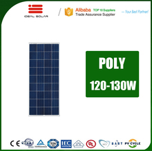 free sample customized size 1270*674*35mm pv module 115w 120w 130w 110 w 120 watt mono poly solar panel with the lowest price