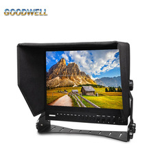 "Check Field, Peaking Filter ,Camera Mode 15"" LCD HD-SDI Broadcast Monitor 1024x768 built in Tally System"