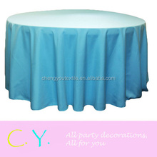 Satin Tablecloth for wedding and party-Aqua Blue