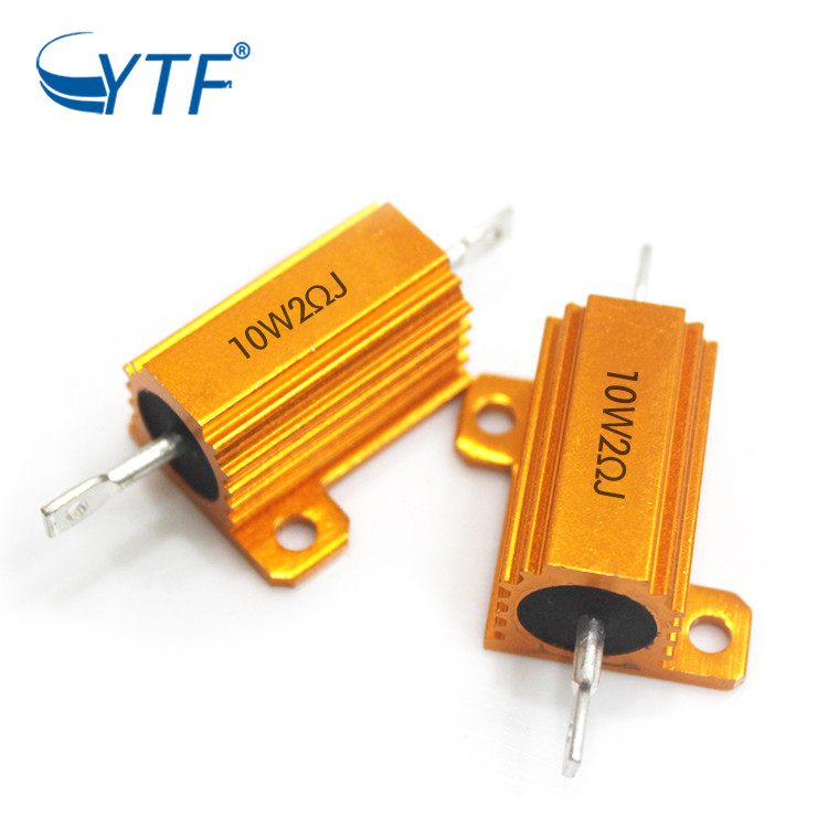 High Quality Gold Case Resistor Power House 50w 68r Aluminum Housed Wirewound <strong>Resister</strong>
