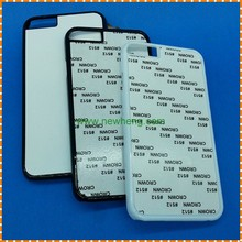 Wholesale aluminum heat / thermal transfer printing 2D sublimation phone case for iphone 7