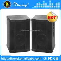 2.0 fashion portable professional stage stereo speaker for tv