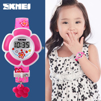 skmei bracelet heart shaped watches fancy watches for child