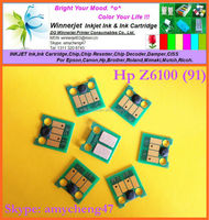 Z6100 Chip For Hp 91 Ink Cartridge Chips