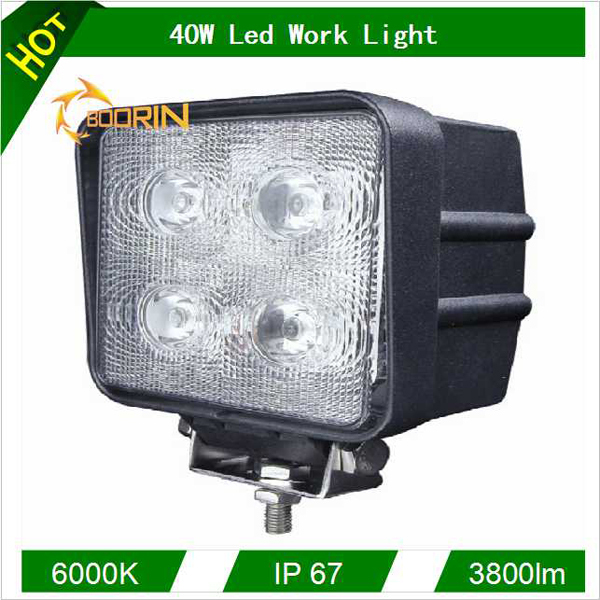 Most popular 6inch 40W Led Worklight 12v led work light