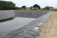fish farm pond liner HDPE compound geomembrane tank