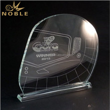 Unique Motorcycle Game Award Crystal Glass Racing Helmet Trophy