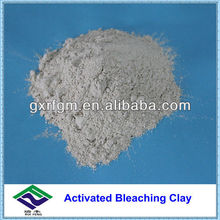 Activated bleaching clay for vaseline oil