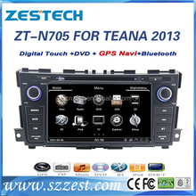 touch screen car stereo for Nissan Teana 2013 car dvd stereo with bluetooth DVD GPS system,,dual core+2 din cd player