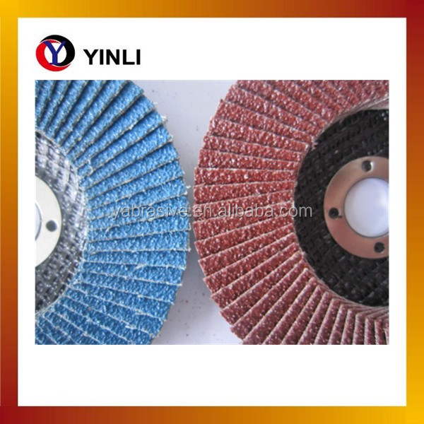 China Manufacturers New Product Paint Removal Abrasive Flap Disc