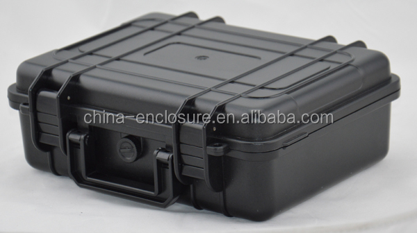 China plastic carrying case/handle simple plastic tool box/case/safety case