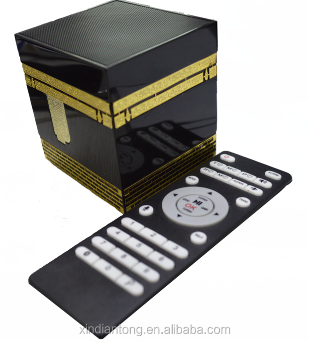 FM radio voice recording bluetooth quran speaker with remote