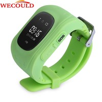 Wecould GPS Tracker Security Kids Smart Watch With SIM Card Slot SOS Phone Call