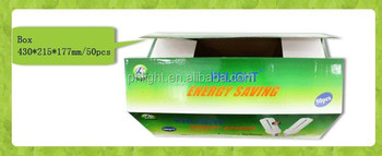 solar energy 220V E27 6400K CFL 2U 20W LIGHT