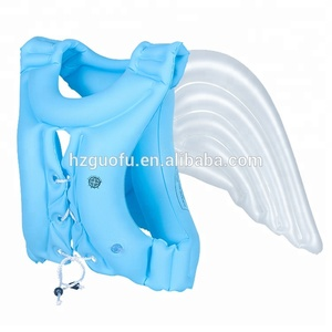2018 Angel Wings Design Kids Inflatable Swimming Jacket, Fashion Water Swim Training Vest Life Jackets for Children Adult