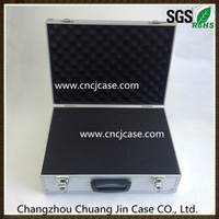 custom aluminum metal tool case with foam