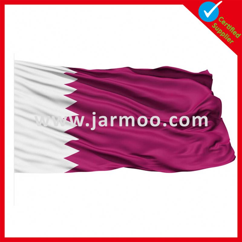 Wholesale decoretive flag national flag colors facts about qatar
