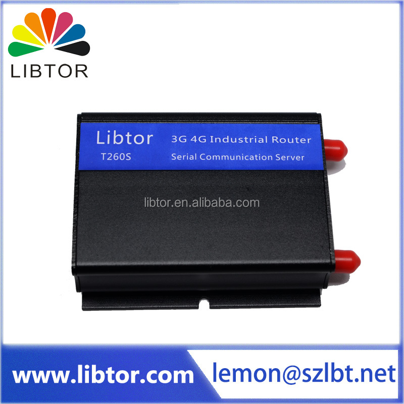 T260S-A1 small size VPN serial GPRS 3G WiFi WCDMA Industrial wireless router for M2M application