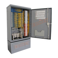 Telecommunication Fiber Optic Splice Cabinet With