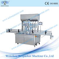 Automatic sauce glass bottle filling equipment