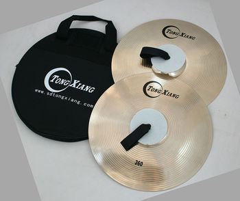 "marching cymbals 18"" hand cymbals pairs"