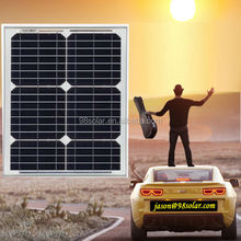 High quality solar panel mono 20w see here
