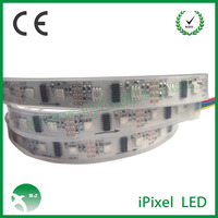 Individually digital Addressable DMX RGB LED Strip LPD8806 light for clothes