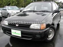 Used TOYOTA Starlet RHD 5seat van Manual car