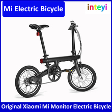 "Original Xiaomi Mi Qicycle Electric Bicycle 20KM/H Foldable Bluetooth 4.0 smart Bike Phone APP Monitor With 1.8"" Screen bicycles"