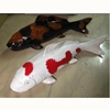 Excellent Quality Art Fine Lotus leaf Shape Fish Pottery Wall Decoration With Chinese Style