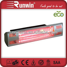 220V 1500W golden room portable heaters