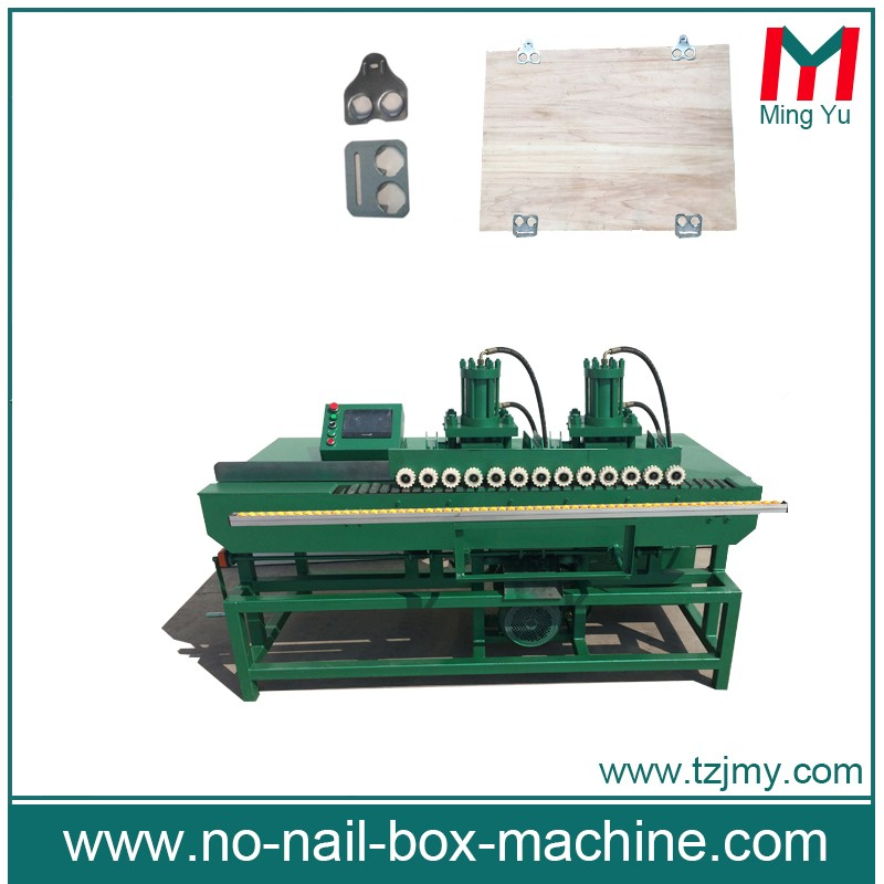 auto double moulds packaging box machines folding wooden crates machine