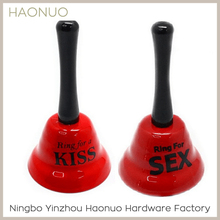 Factory price nice toy iron hand bell price