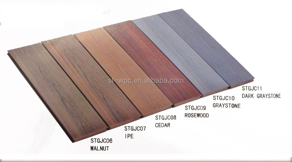 Anti uv cheap composite decking tiles composite decking for Cheapest place for decking boards