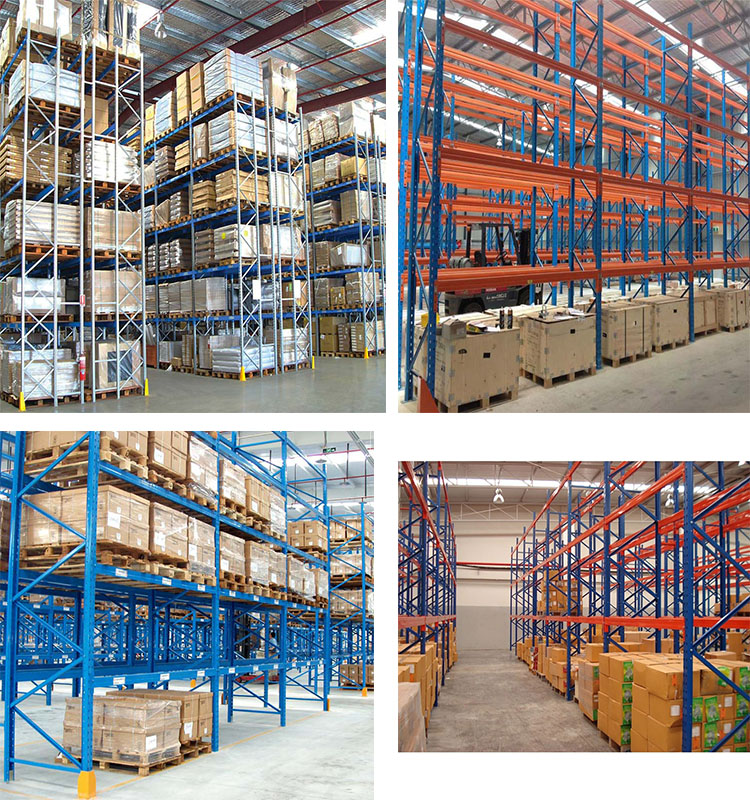 Warehouse Storage Racking System Heavy Duty Pallet Rack Supplier