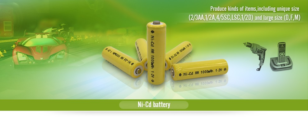 NiCD Sub C Size 1800mAh 12v Rechargeable Battery Pack