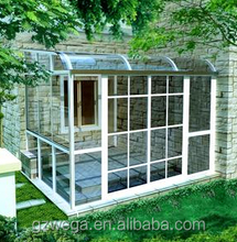 Widely used builiding ! Aluminum glass sun house