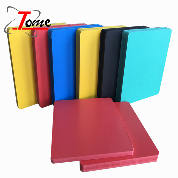 pva plastic laminated foam sheet