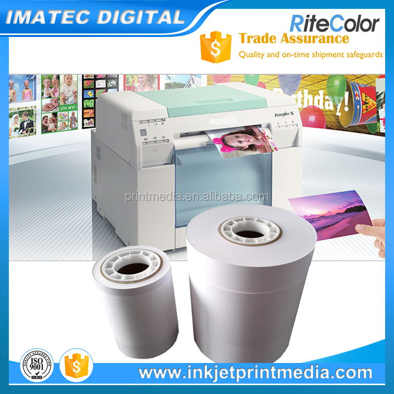 China OEM 240gsm fujifilm Premium Plus Luster Photo Paper for Minilab Plotters