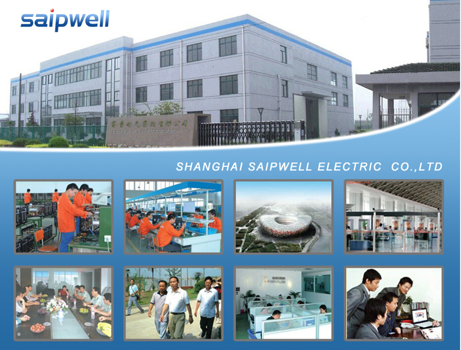 SAIP/SAIPWELL High Quality Industrial Waterproof Stainless Steel Electric Meter Box